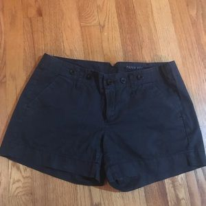 Anthropologie Shorts - Paper Boy navy shorts, size 4. From Anthropologie.